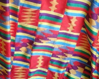 Beautifully designed Handwoven Kente Scarf