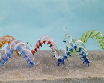Caterpillar Glass Family