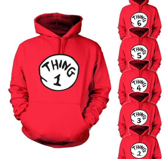 Thing one thing two hoodies