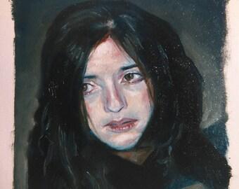 Original Oil Sketch (Miriam)