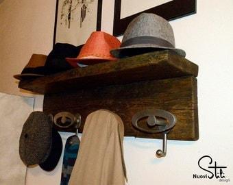 Antique coat rack Hat rack wall Hangers