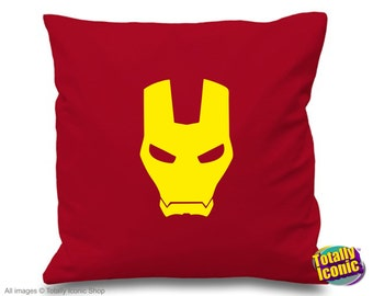 Iron Man Avengers - Pillow Cushion Cover - Avengers Inspired by the Comic Books & Film