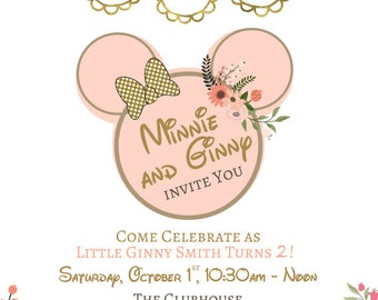 Custom Minnie Mouse Party Invite!