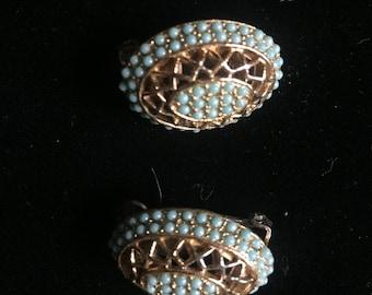 Signed Har clip on Earrings beautiful!
