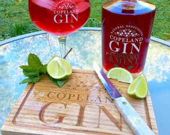 Gin & Tonic Board - Copeland Gin Special Edition