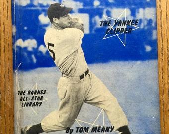 Joe Dimaggio 1950-51 Barnes All Star Library Hardcover Book