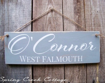 Personalized Sign, Family Established Sign, Family Name, Lake, Farm House Signs, Beach Decor, Wood Sign, Home Decor, Rustic Signs
