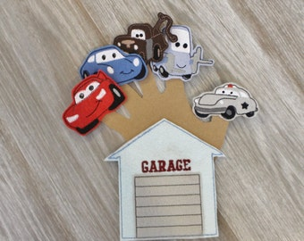 Car Finger Puppet Set