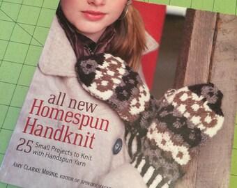 SALE!!  Homespun Handknit
