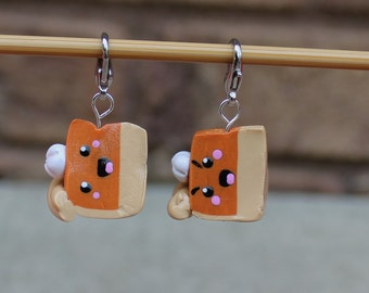 Pumpkin Pie Stitch Markers