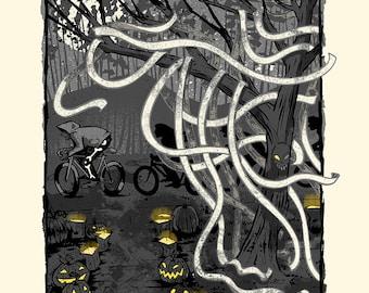 Cellar Door - Screenprinted Art Print