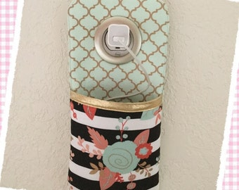 iPhone / iPod Wall docking station ** coral mint gold rose**