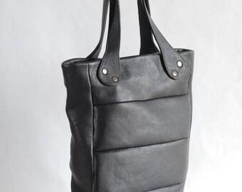 SALE! 50% off! Black leather bag