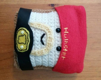 The Hulkster Toastee - OOAK Mr. Toastee Plushie