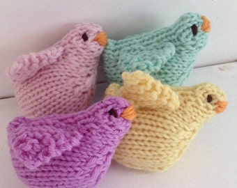 Peeps Spring Chicks Natural Toy Waldorf Eco Kids Toys