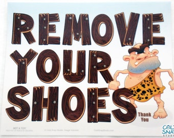 Take Your Shoes Off Etsy