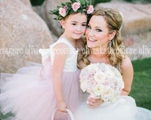 Flower Girl Dress PINK BLUSH Dress