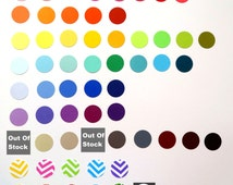 Circle Confetti Choose Your Color(s) Die Cut Paper Circles for Parties, Weddings, Scrapbooking, Gift and Envelope Stuffing, and More.