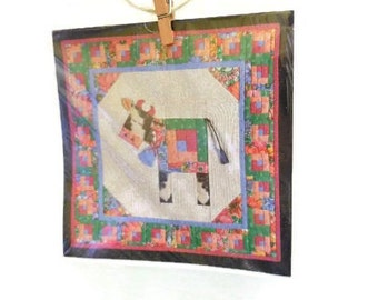 Piecemakers Quilted Cow Card & Quilting Pattern
