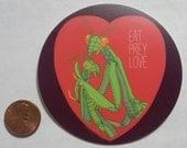 3 inch vinyl sticker - Eat, Prey, Love