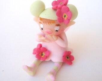 Tiny flower fairy