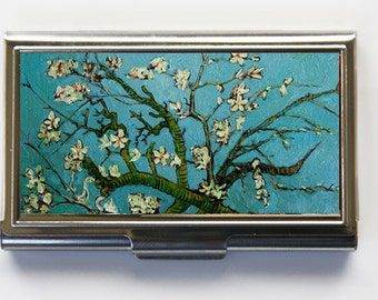 Almond Blossoms Business Card Holder Card Case