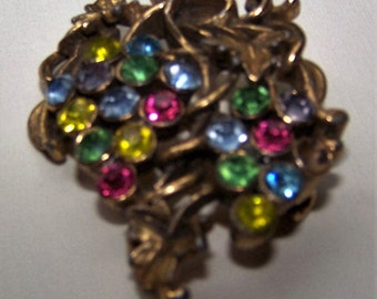 Brooch, Grapes, 1940