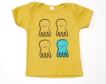 Quadropus Baby T-Shirt - Organic Cotton