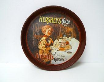 Hershey's Cocoa tin tray