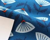 Jessica Jones for Cloud 9 ORGANIC FABRIC - In Theory Barkcloth - Meridian - Blue