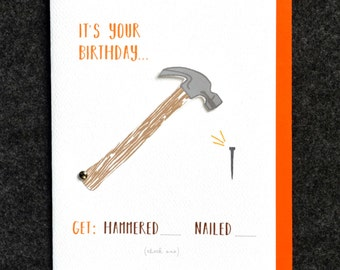 Hammered Card