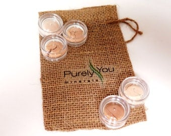 Mineral Foundation Sample Kit Vegan