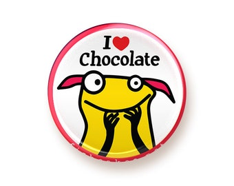 I love Chocolate - button