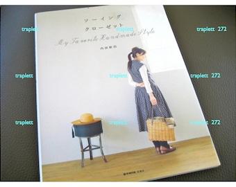 Japanese  Craft Pattern Book Sewing My Favorite Handmade Style