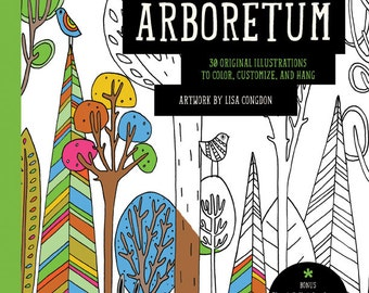 Lisa Congdon Arboretum Coloring Book