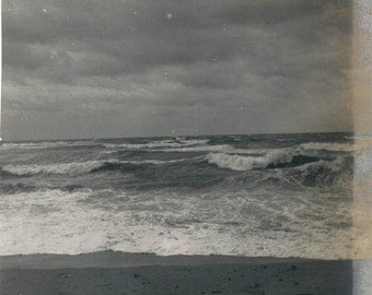 vintage photo 1908 Surf Peaked Hill Bars Cape Cod Mass 2 photo lot