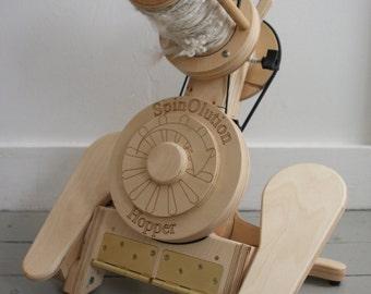 SpinOlution  Hopper Travel Spinning Wheel