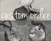 Custom Order for Corina F ONLY