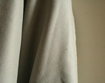 WOOL FABRIC / light beige grey / virgin wool italy  / yard / metre / etsy australia / wool remnant / runningthreads