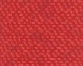 Juniper Berry - From Basic Grey - For Moda - Poinsettia Red (30434 15) - 1 Yard - 9.95 Dollars