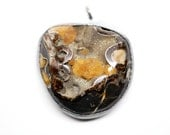 pyrite with magic pendent