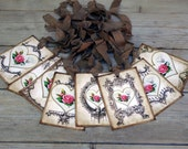 Shabby Heart Tag Assortment Gift Tags