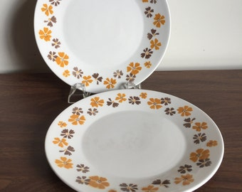 Vintage Ironstone Plates - Bolero by Empress Japan