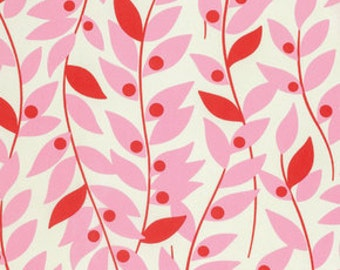 Heather Bailey's Nicey Jane, Lindy Leaf in Pink, yard