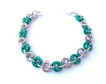 Linked Mobius Bracelet