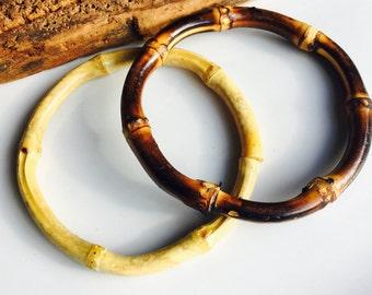 Vintage Wooden Bangles