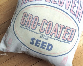 18 Inch Grain Sack Pillow Sham