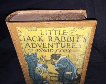 David Cory Little Jack Rabbit's Adventure Faux Book