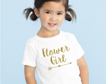 Flower Girl shirt flower girl tshirt  tee flower girl shirt