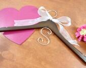 Personalized Bridal Hanger Monogram Hanger Wedding Dress Hangers Bridal Accessories Bride Coat Hanger Wedding Photo Props